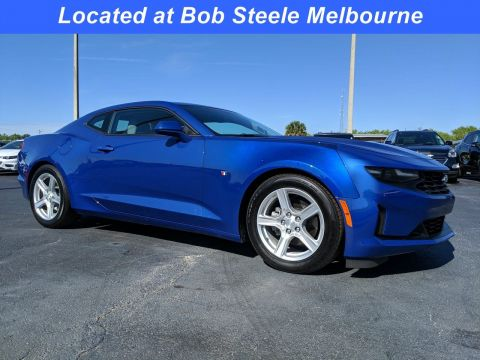 Certified Pre-Owned 2020 Chevrolet Camaro 1LT RWD 2dr Car