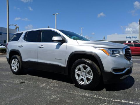 Certified Pre-Owned 2018 GMC Acadia SLE FWD Sport Utility