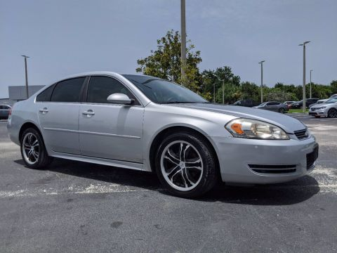 Pre-Owned 2010 Chevrolet Impala LS FWD 4dr Car